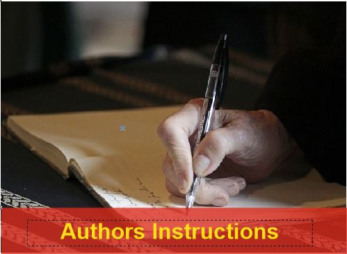 Authors Instructions